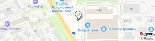 Магазин дверей на карте Липецка