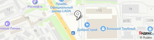 ЗенитЧерноземье на карте Липецка