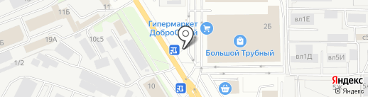 Josta coffee на карте Липецка