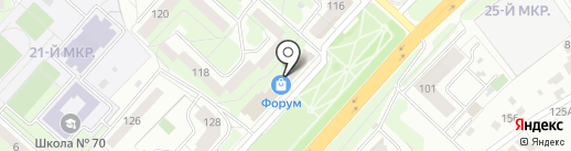 Decor City на карте Липецка