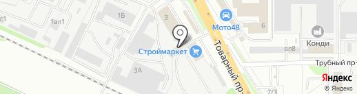 Авто-Три на карте Липецка