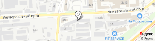 Ливинские Фильтры на карте Липецка