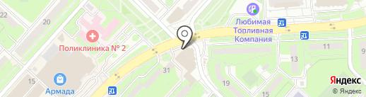 БАС-МЕХАНИК на карте Липецка