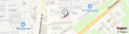 Стикс на карте Липецка