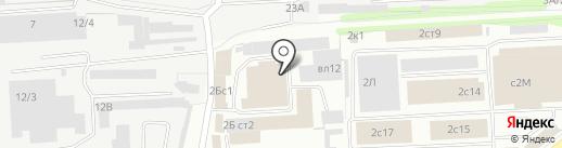 Изотерма-Л на карте Липецка