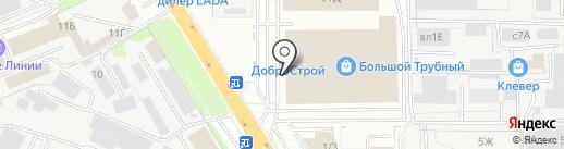 Смарт-Л на карте Липецка