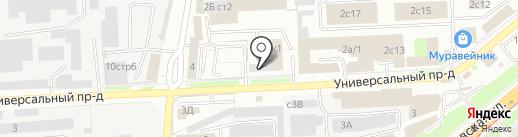 Строитель на карте Липецка