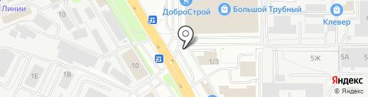 Магазин жестяных изделий на карте Липецка