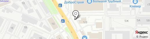 Вардек на карте Липецка