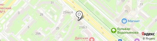 Статус на карте Липецка