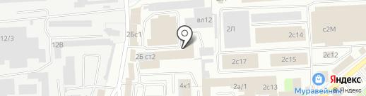 Аргаллит на карте Липецка
