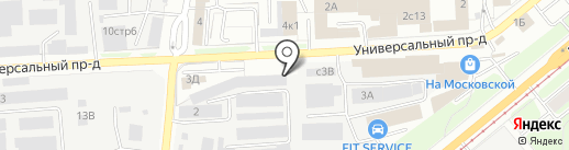 New48 на карте Липецка