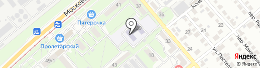 Детский сад №104 на карте Липецка