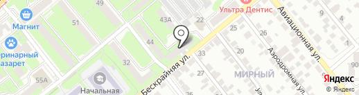 Штрафной на карте Липецка