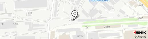 Автомастерская на карте Липецка