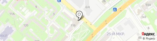 Магазин автотоваров для УАЗ, ГАЗ, ВАЗ на карте Липецка