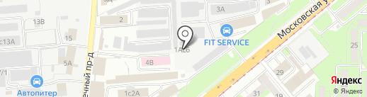 МАСТЕР-PDR на карте Липецка