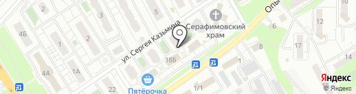 Звездный на карте Липецка