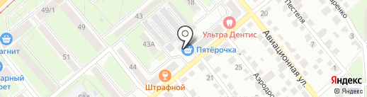 Находка Н на карте Липецка