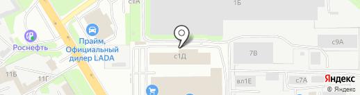 Специализированный магазин автозапчастей для Audi, Volkswagen на карте Липецка