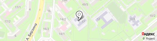 Детский сад №99 на карте Липецка