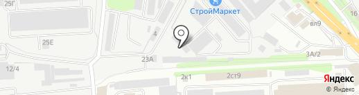Оникс-Мебель на карте Липецка