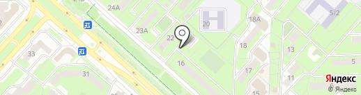 Арго-Л на карте Липецка