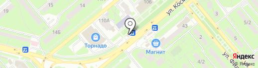 Городская касса на карте Липецка