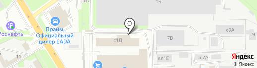 Мастер-ОК на карте Липецка