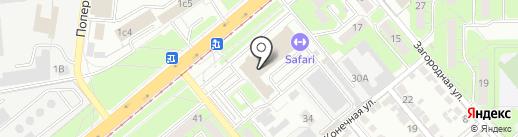 IN.ЯЗ на карте Липецка