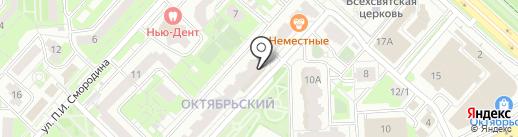 Millee на карте Липецка