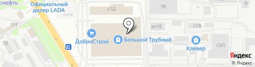 КлинСтар на карте Липецка