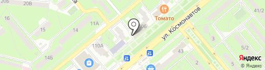 Магазин детских игрушек на карте Липецка
