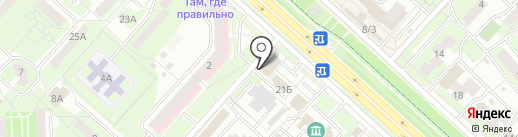 Крепежик48 на карте Липецка