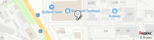 Магазин выпечки на карте Липецка