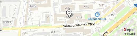 АйПринт на карте Липецка