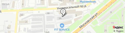 Оптовая фирма на карте Липецка