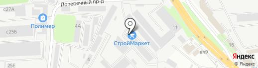 СЕВЕРНЫЙ ЛЕС на карте Липецка