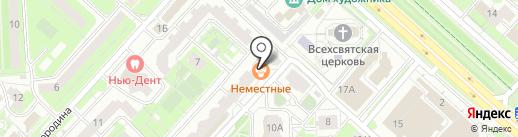 MiaMi на карте Липецка