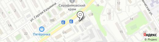 Агрохимзащита-Черноземье на карте Липецка