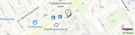 Липецкий районный центр занятости населения на карте Липецка