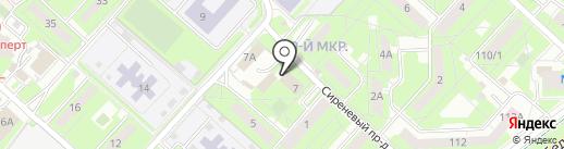 Терминал по продаже и пополнению транспортных карт на карте Липецка