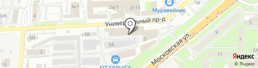 inФОРМАТ на карте Липецка