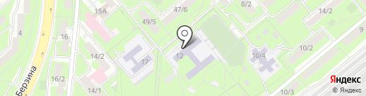 Секция айкидо на карте Липецка