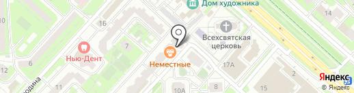 Спец на карте Липецка