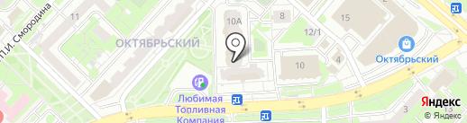 Приоритет на карте Липецка