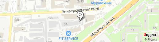 Формула Доставки Черноземье на карте Липецка