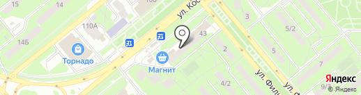 Кабинет доктора Сорокина на карте Липецка