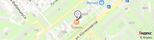 Магазин женского белья на карте Липецка