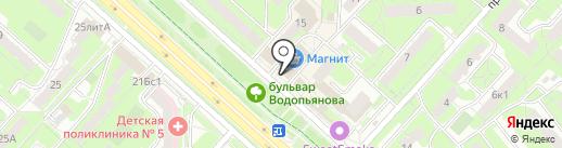 Почтовое отделение №60 на карте Липецка